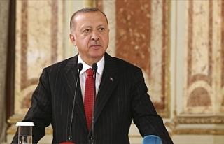 Cumhurbaşkanı Recep Tayyip Erdoğan'dan: ABD Başkanı...