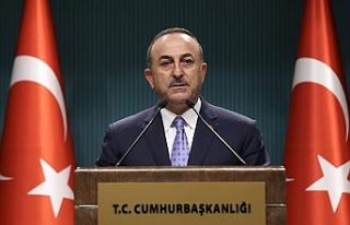 Dışişleri Bakanı Mevlüt Çavuşoğlu, İstediklerimizi...