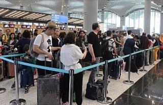 İstanbul Havalimanı 1 Yılda 40 Milyonu Aştı