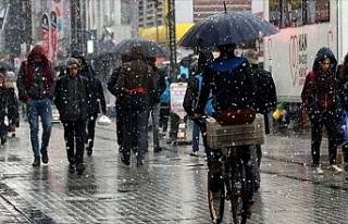 Meteoroloji Duyurdu: Birçok İlde Sağanak ve Kar...