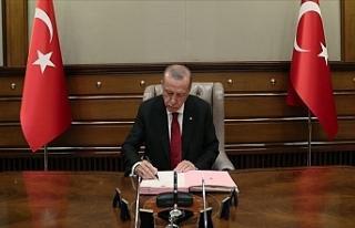 Resmi Gazete' de Yayımlandı: Cumhurbaşkanı Erdoğan'dan...