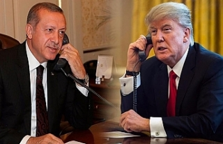 Cumhurbaşkanı Erdoğan, ABD Başkanı Donald Trump...