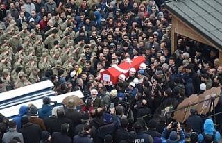 Erzurumlu Şehit Asker Son Yolculuğuna Uğurlandı