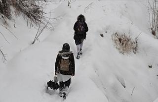 Eskişehir ve Kütahya'da Etkili Olan Kar Yağışı...