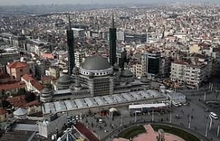 Taksim Camisi Yıl Sonunda Tamamen Bitmiş Olacak