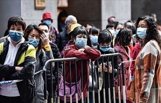 Çin'de Koronavirüs 3 Bin 199 Can Aldı