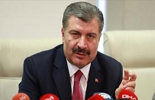 Sağlık Bakanı Fahrettin Koca Koronavirüsle İlgili...