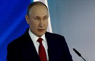 Rusya Devlet Başkanı Putin'den Kovid-19'la...