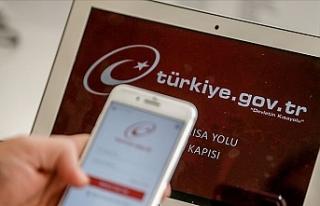 Türkiye Kamu Hizmetini E-Devlet'ten Alıyor