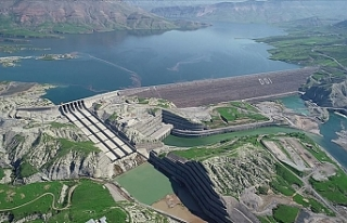 Ilısu Barajı Hidroelektrik Santrali'nde Enerji...