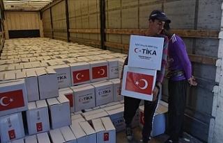 Irak'ta 5 Bin Haneye TİKA Yardımı Ulaştırıldı