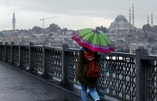 Meteorolojiden İstanbul'a Kuvvetli Sağanak...