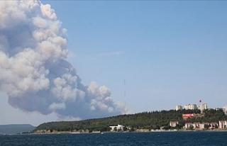 Tarihi Gelibolu Yarımadası'nda Orman Yangını...