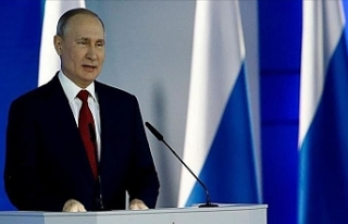 Rusya Devlet Başkanı Vladimir Putin'in 2019...