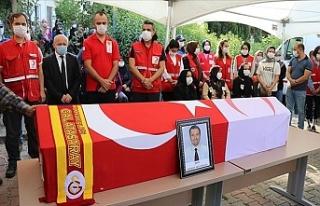 Türk Kızılay Personeli Şehit Kıdıman Son Yolculuğuna...