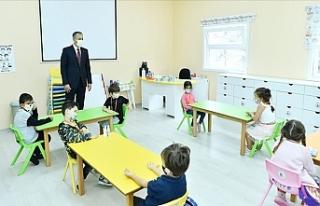 İstanbul'da Yüz Yüze Eğitime Katılım Yüzde...