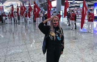 İstanbul Havalimanı İki Coşkuyu Bir Arada Yaşıyor