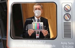 Milli Eğitim Bakanı Ziya Selçuk, EBA TV Anaokulu...