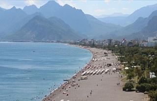 Antalya 2020 Yılında 3,5 Milyona Yakın Turisti...