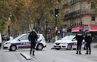 Fransa Polisi PKK/YPG Saflarında Çatışan Eylem...
