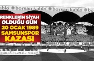 Renklerin Siyah Olduğu Gün: 20 Ocak 1989 / Samsunspor...