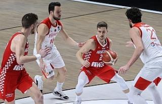 Basketbol Milli Takımı Kazanarak Bitirdi