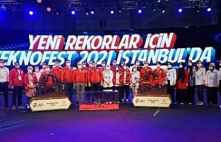 İnsanlık Yararına Teknolojiler İstanbul TEKNOFEST'te...