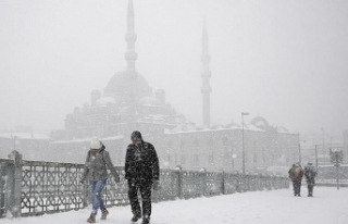 Kar Yağışı İstanbul'da Yüz Yüze Eğitimi...