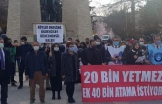 Türk Eğitim-Sen ve Eğitim-İş'ten Ataması...