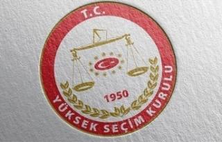 YSK, İllerin Nüfusa Göre Çıkaracağı Milletvekili...