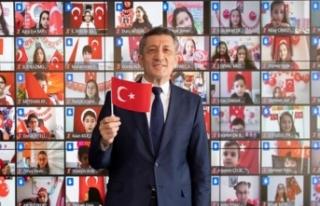 Bakanı Selçuk, 23 Nisan Dolayısıyla Çocuklarla...