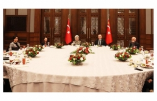 Erdoğan'dan İftar Programı