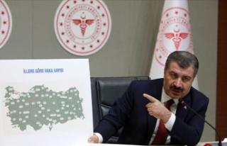 Sağlık Bakanı Koca İllere Göre Haftalık Kovid-19...