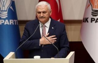 AK Parti Genel Başkanvekili Binali Yıldırım'dan...