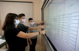 Öğrenciler Karne Heyecanını Dijital Ortamda Yaşadılar