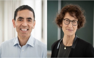 Kovid-19 Aşısını Geliştiren Türk Bilim İnsanları Uğur Şahin ve Özlem Türeci'nin Başarısı Örnek Gösterildi
