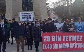 Türk Eğitim-Sen ve Eğitim-İş'ten Ataması Yapılmayan Öğretmenlere Destek