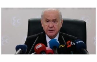 MHP Lideri Devlet Bahçeli'den Cumhur İttifakı Açıklaması