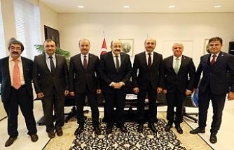 Genel Başkan Talip Geylan, YÖK Başkanı Yekta Saraç'ı Ziyaret Etti