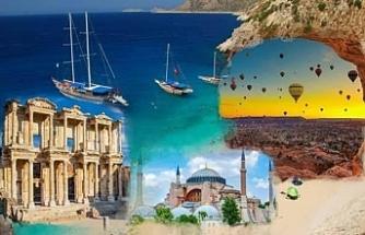 Turizm Geliri 34 Milyar 520 Milyon 332 Bin Dolar Oldu