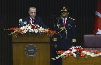 Cumhurbaşkanı Erdoğan: Yüzyılın Barış Planı Diye Yutturulan Plan Aslında Bir İşgal Projesidir