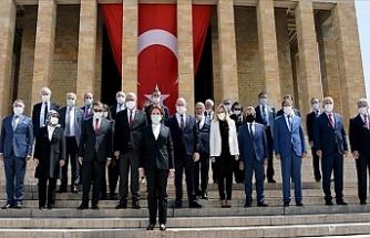 İYİ Parti Genel Başkanı Meral Akşener: Anıtkabir'i Ziyaret Etti
