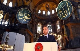 Cumhurbaşkanı Erdoğan İmzaladı Ayasofya İbadete Açıldı