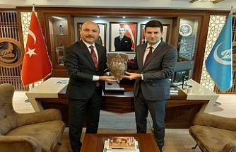 Genel Başkan Talip Geylan Ülkü Ocakları Genel Başkanı Ahmet Yiğit Yıldırım'ı Ziyaret Etti