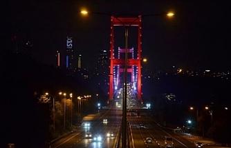 İstanbul'da Sokağa Çıkma Yasağı Başlamasıyla Birlikte Sessizliğe Büründü