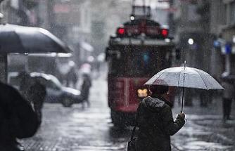 İstanbul'da Yağış Var
