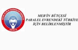 Eğitim İş'ten MEB Bütçesi Eleştirisi