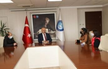 Ataması Yapılmayan Engelli Öğretmenlerden Türk Eğitim-Sen'e Ziyaret