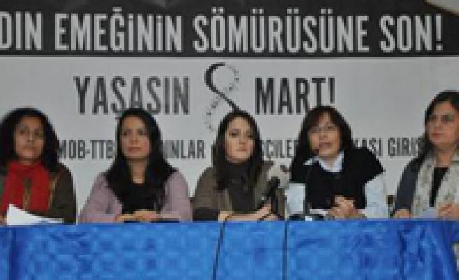 DİSK Kadın Komisyonu'nun, 8 Mart mesajı:
