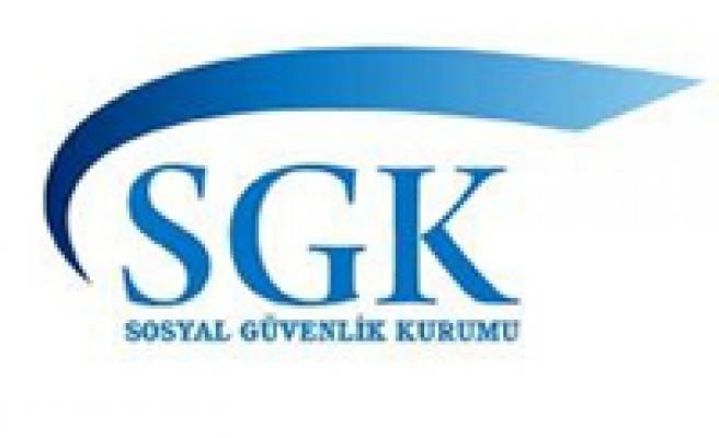 SGK'dan yapılandırma uyarısı